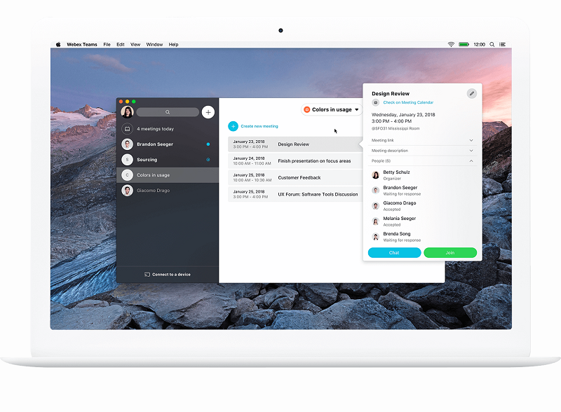 cisco webex messaging app