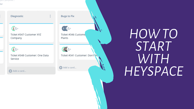 How To Start With HeySpace