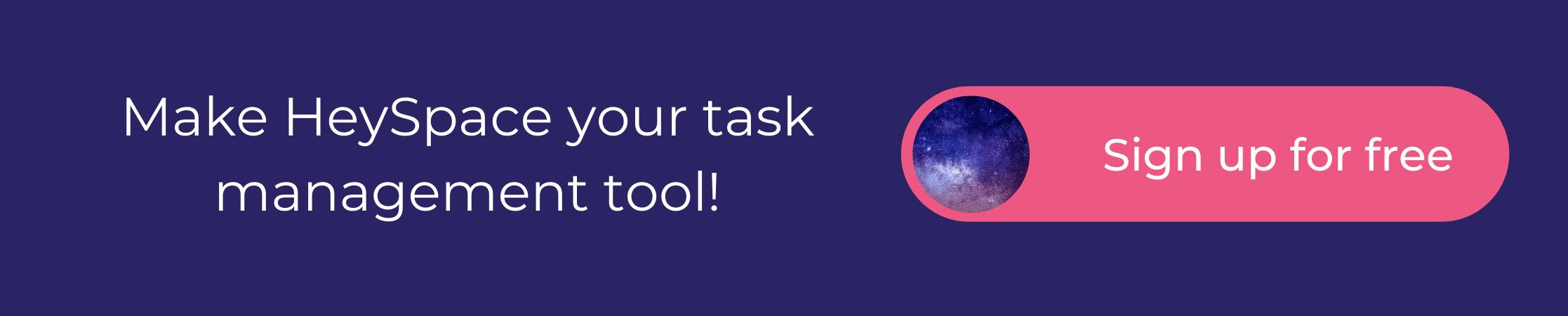 HeySpace task management tool