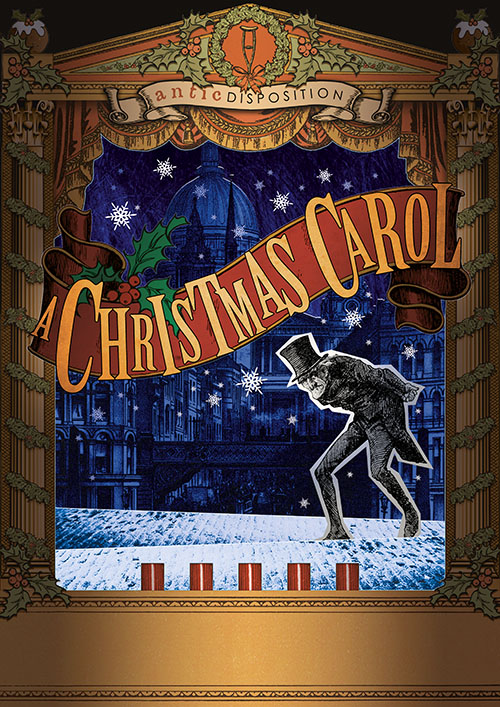 Antic Disposition A Christmas Carol Poster