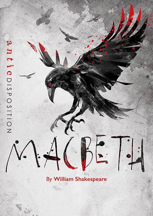 Antic Disposition Macbeth Poster