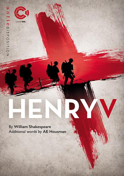 Antic Disposition Henry V Poster