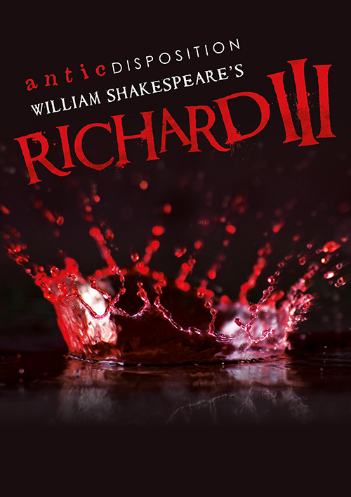 Antic Disposition Richard III Poster