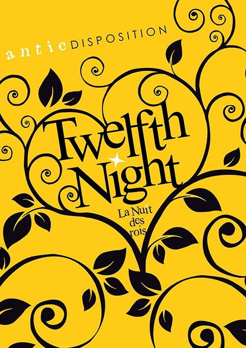 Antic Disposition Twelfth Night Poster