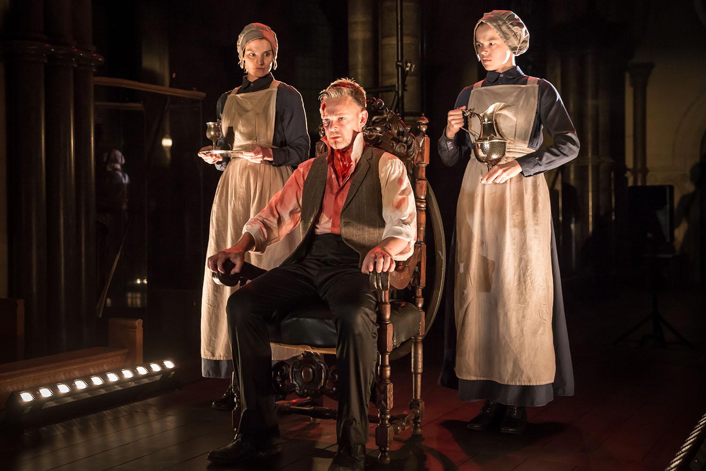 Peter Collis (Banquo) in Antic Disposition's Macbeth (2019)