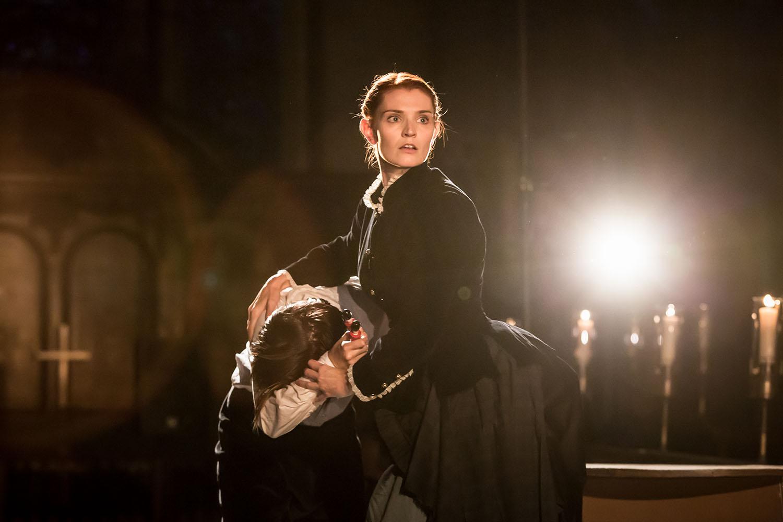 Bryony Tebbutt (Lady Macduff) in Antic Disposition's Macbeth (2019)