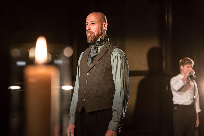 Andrew Hislop (Macduff) in Antic Disposition's Macbeth (2019)