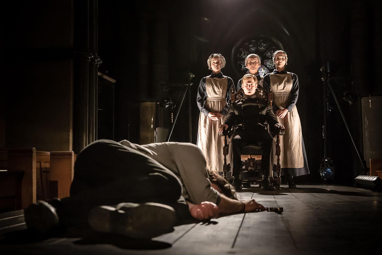 Nathan Hamilton (Malcolm) in Antic Disposition's Macbeth (2019)
