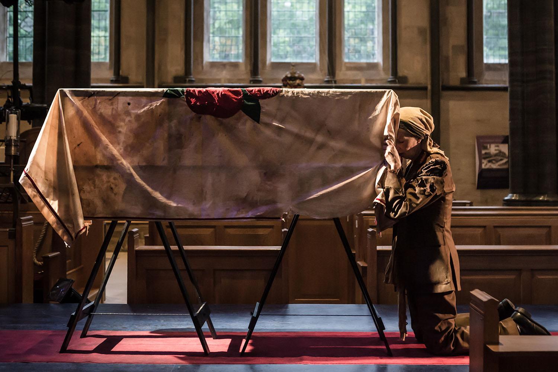 Louise Templeton (Queen Margaret) in Antic Disposition's Richard III (2017)
