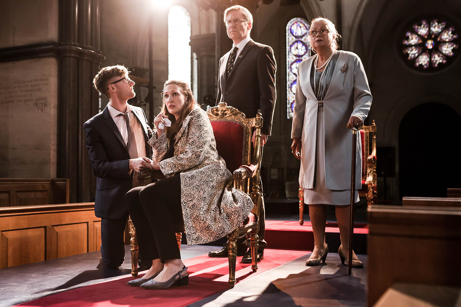 The company of Antic Disposition's Richard III (2017)