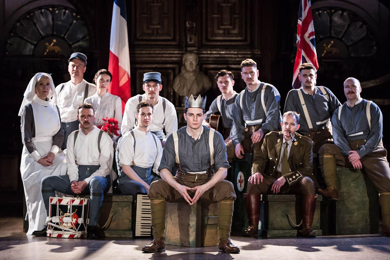 Antic Disposition's Henry V Cast (2015)