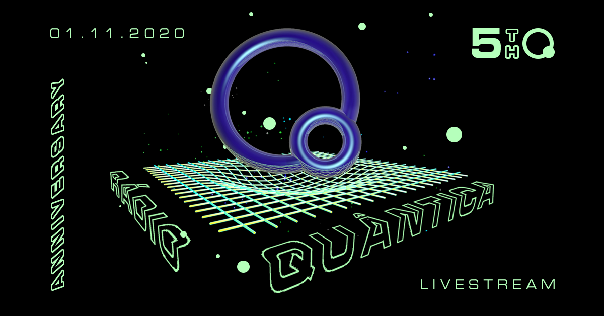 Rádio Quântica celebrates 5 years with brand new site launch and resident live stream