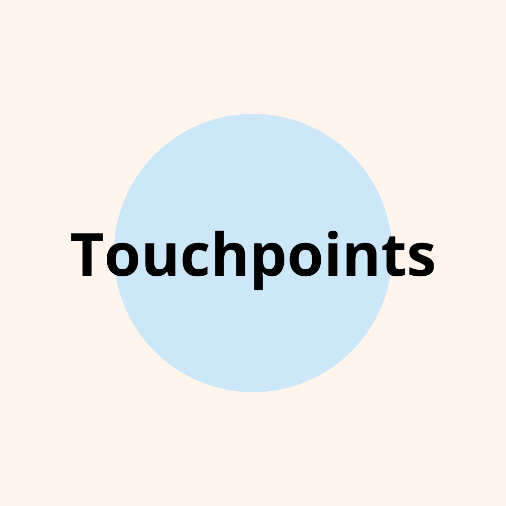 Touchpoints: Find & analyze your customer touch points