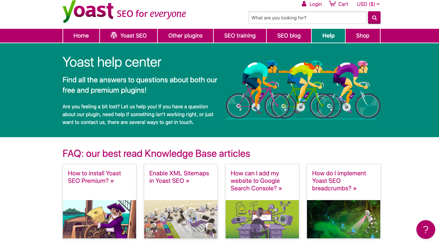Yoast knowledge base