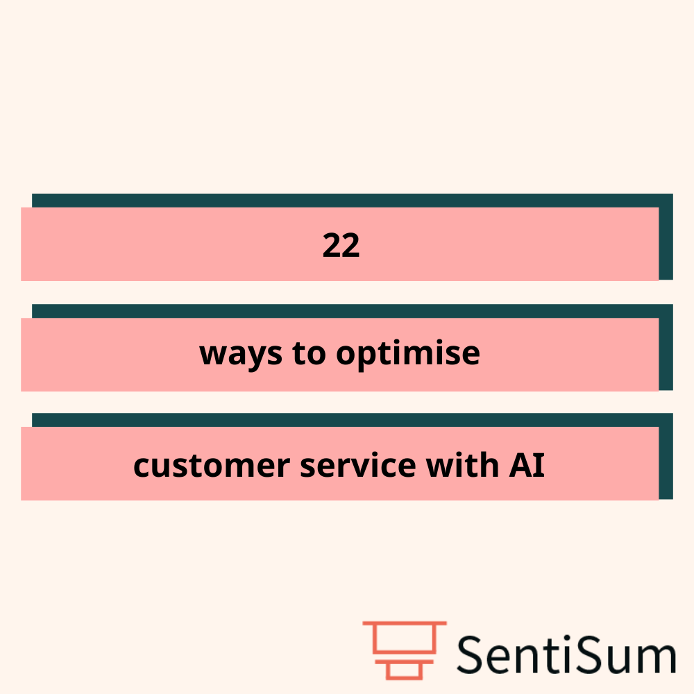 22 ways to optimise customer service using AI ticket tags