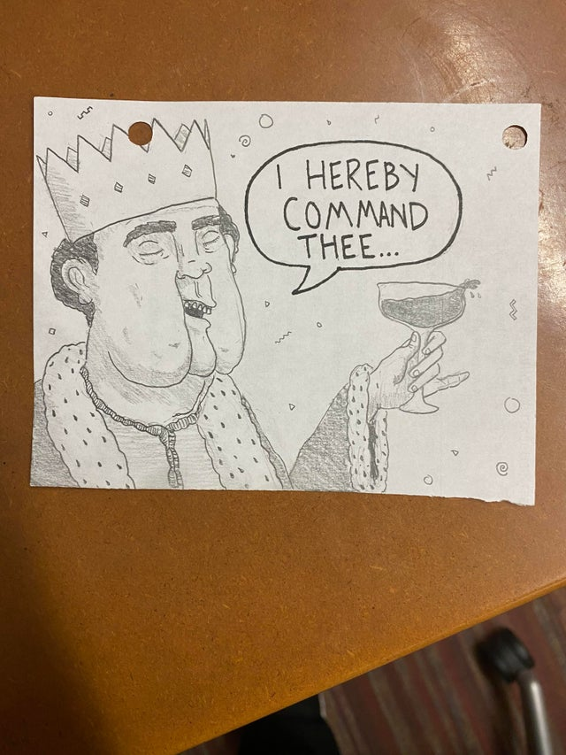 r/funny - I work at a call center. Sometimes I like to draw what my callers might look like. Today I decided to draw what some of my callers think they look like.