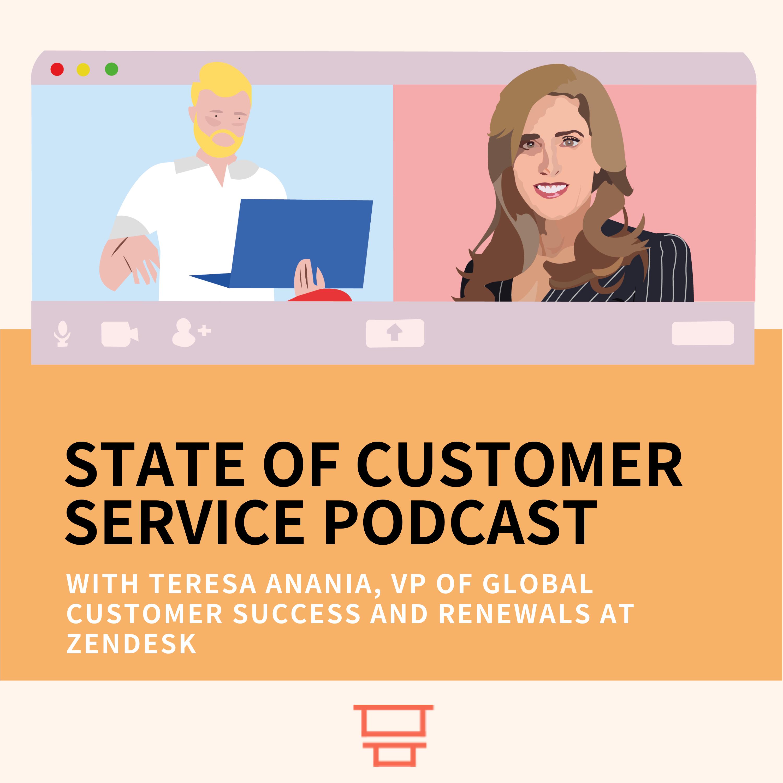 Teresa Anania, VP Global Customer Success and Renewals at Zendesk