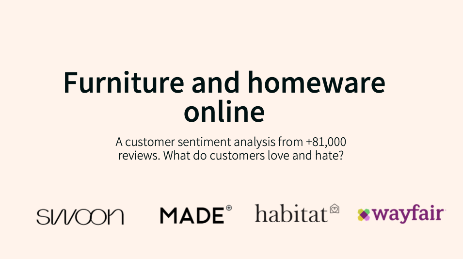 Furniture report sentiment analytics