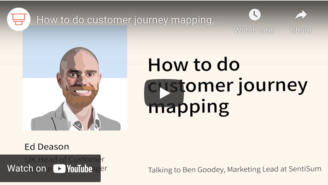 Customer journey mapping: A six step guide