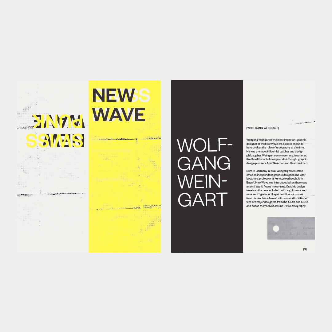 Swiss Punk booklet