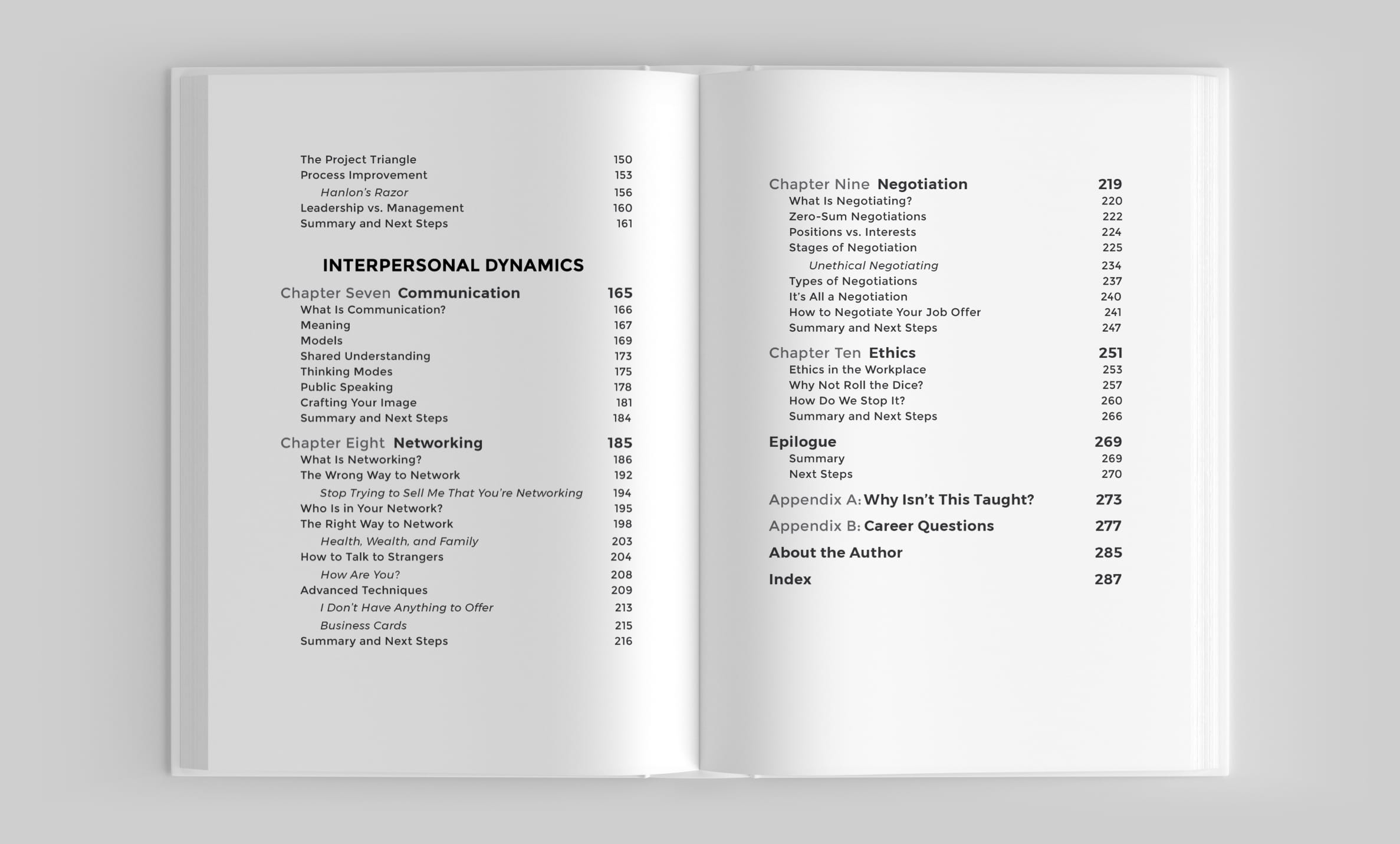 Table of Contents p2