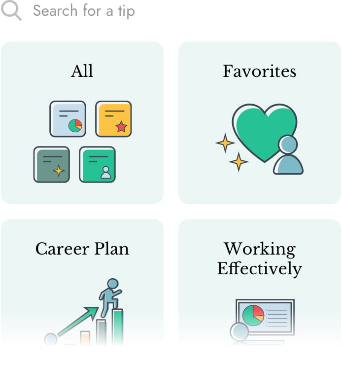 The Career Toolkit App Categories