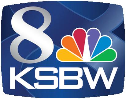 KSBW Salinas, Monterey NBC Logo