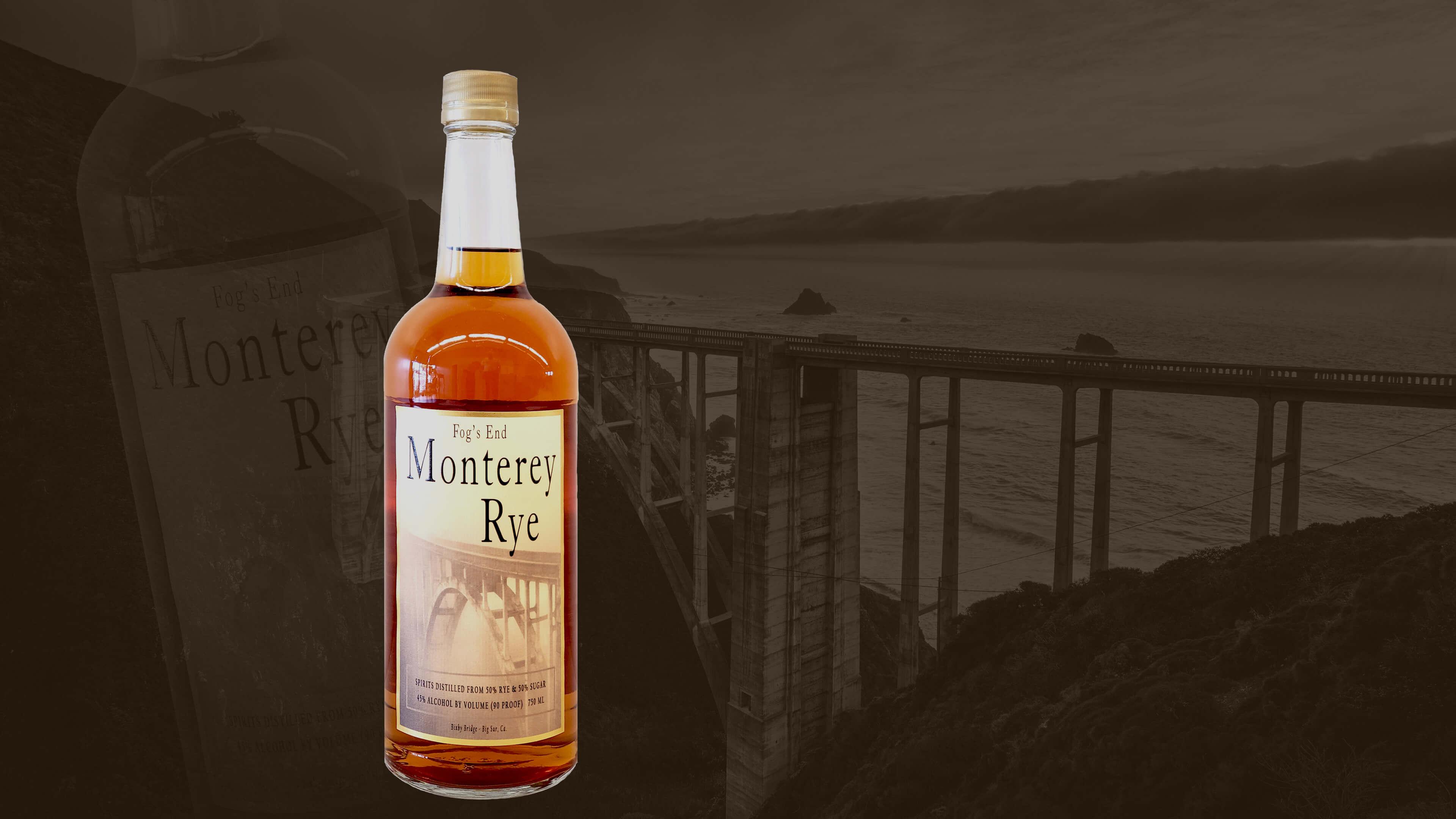 Monterey Rye with Bixby Bridge in the background