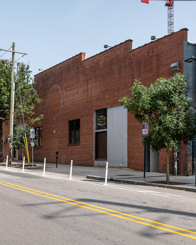 Exterior of 117 S West Street Downtown Raleigh NC