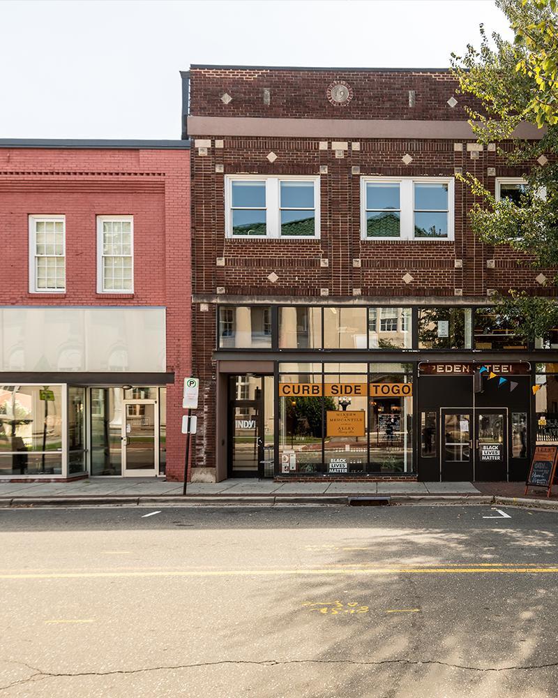 Exterior of 320-322 E Chapel Hill Street Durham, NC