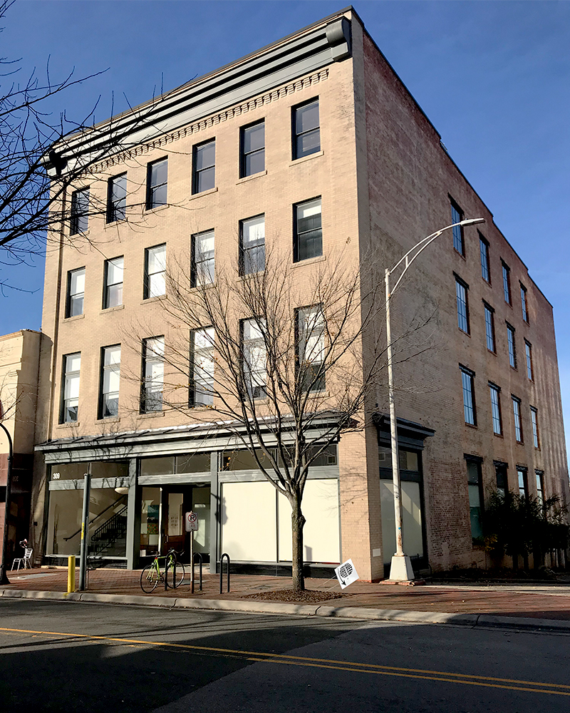 Exterior of 309 E Chapel Hill Street Durham NC