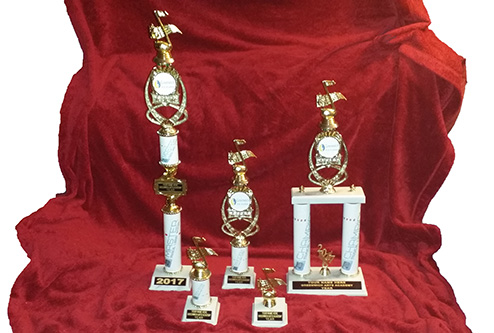 Awesome Musical Ladder trophies at Greenwich Arts Academy
