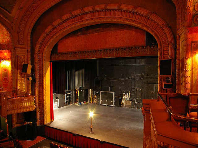 The stage awaits at Greenwich Arts Academy