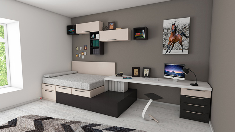 home office lounge bed