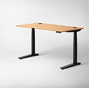 Adjustable Bamboo Top Stand Up Desk