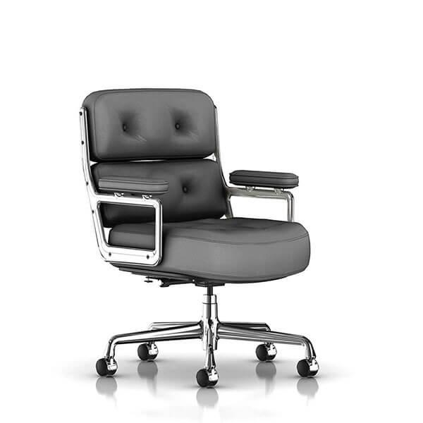 luxury mid century modern executive office chair
