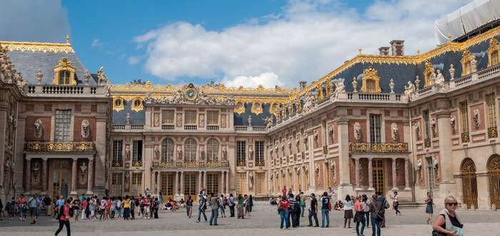 French Luxury in the Palace of Versailles