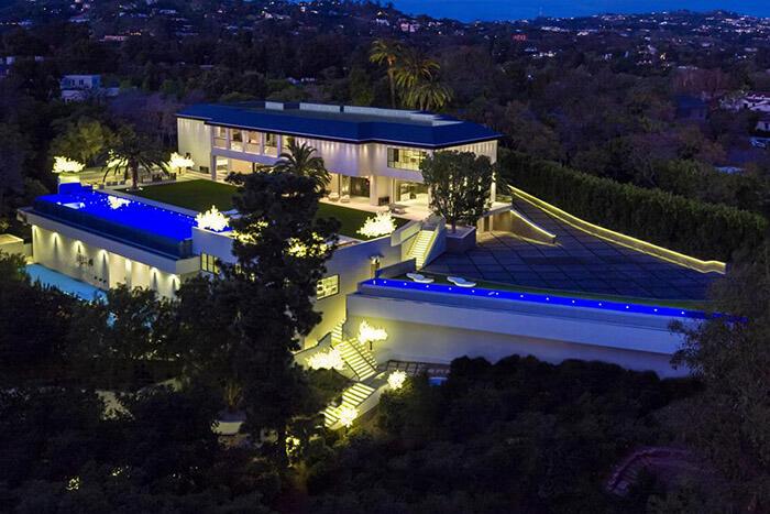 Carolwood Drive Mansion in California