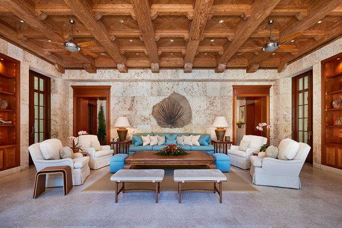 Sitting room at Gemini Estate