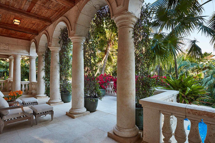 Gemini Estate Balcony View