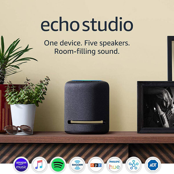 echo studio speaker