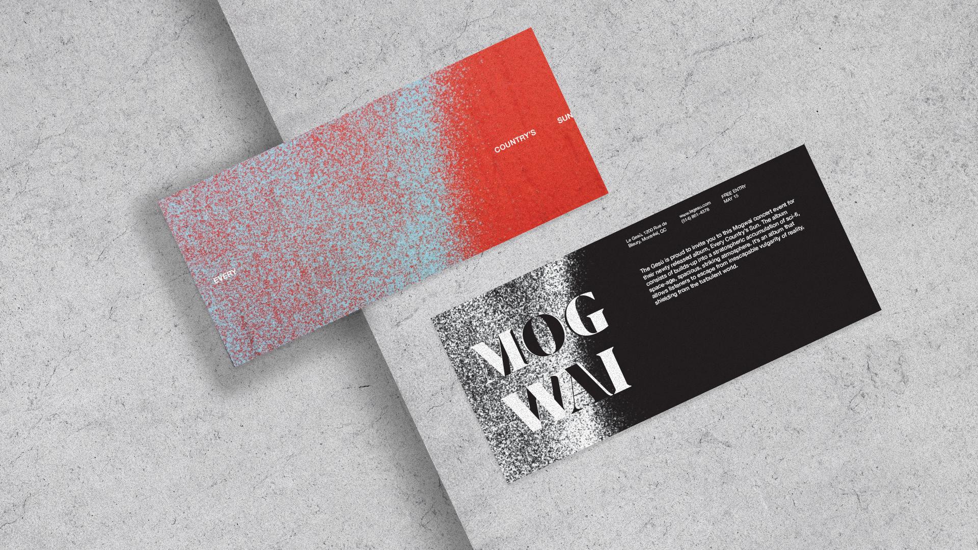 Mogwai Invitation Cards
