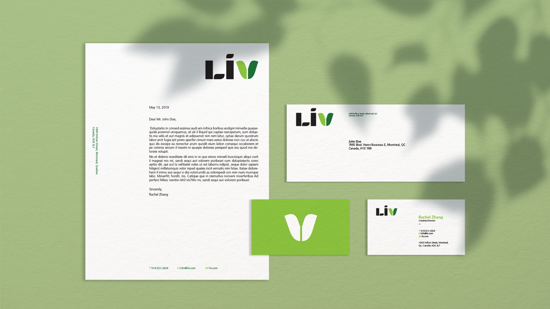 Liv Stationery Set