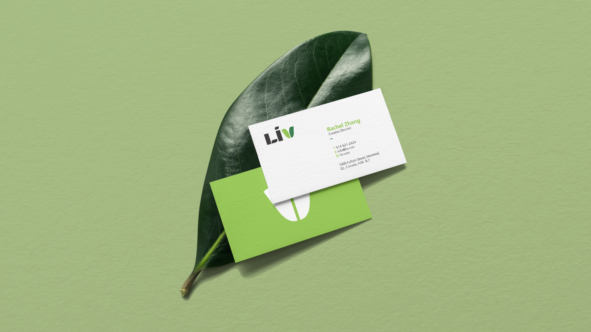 Liv Business Cards
