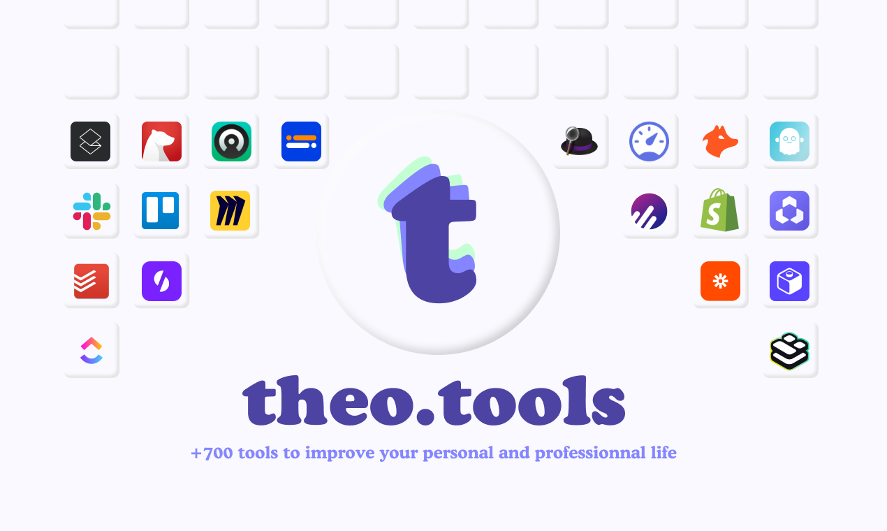 theo.tools - The +700 apps ultimate toolbox for all your needs