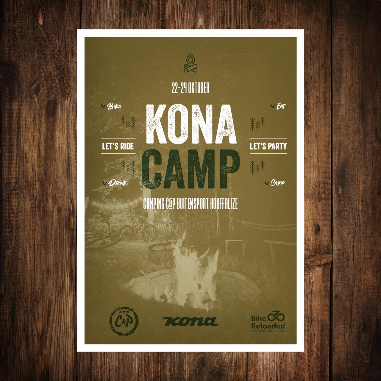 Kona Camp 22 - 24 oktober