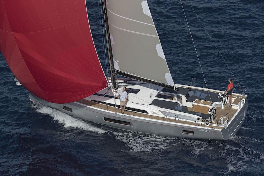 Photo of a Beneteau boat