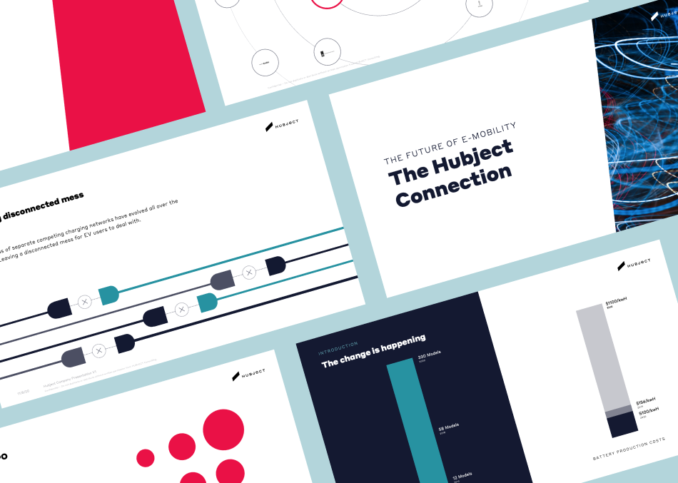 Hubject Preview of Sales Presentation Design