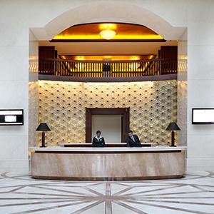 Ramada Jumeirah Hotel Lobby