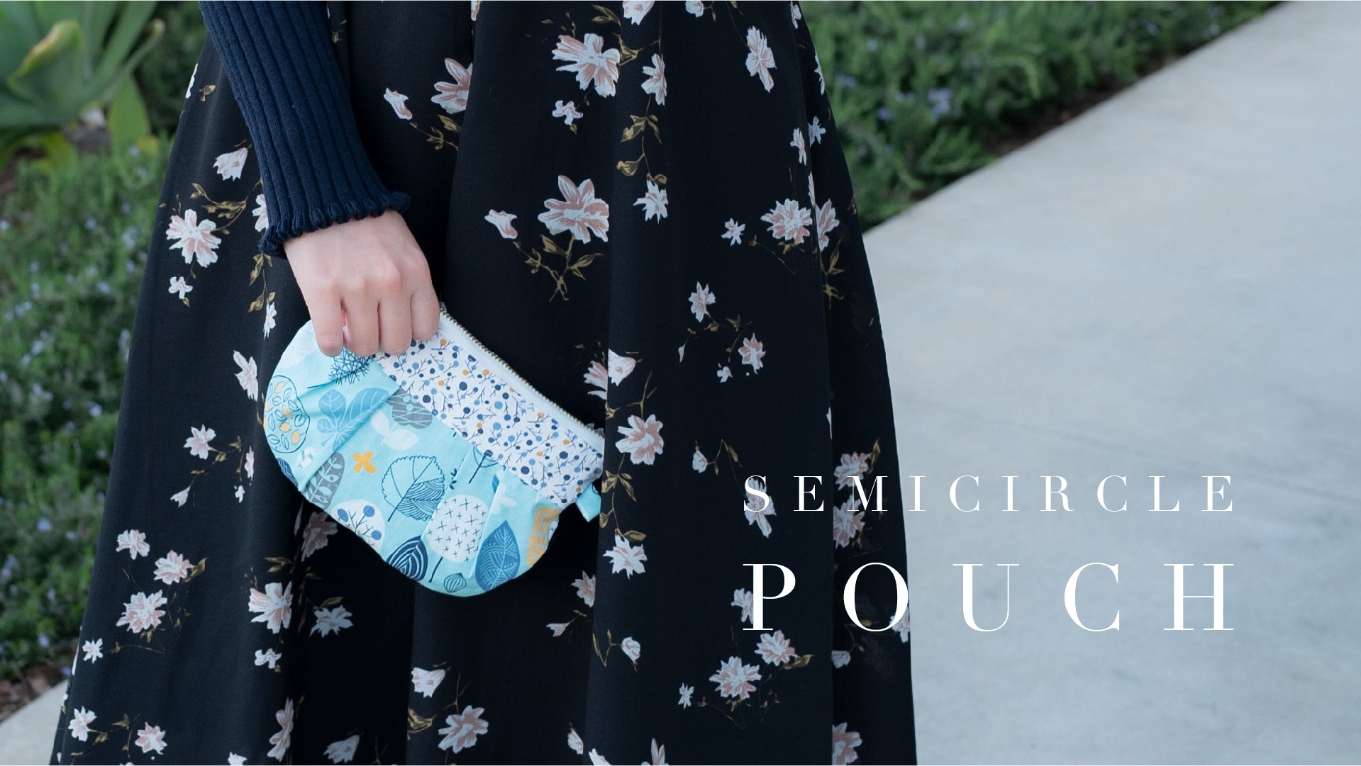 Semicircle Pouch